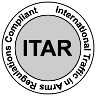 ITAR Registered Manufacturer